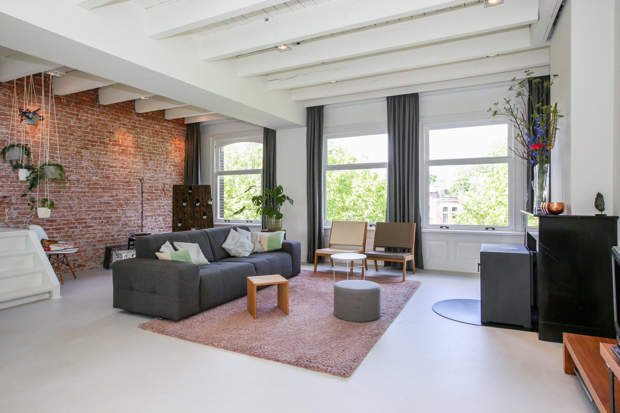 woonhuis cementgebonden gietvloer